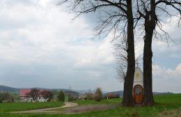 Kapliczka przydrożna domkowa. Świerki, gmina Nowa Ruda, powiat kłodzki.