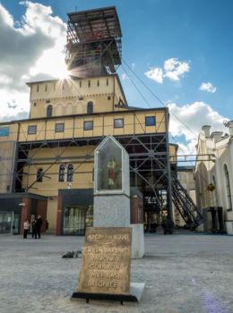 Kapliczka św. Barbary przy dawnej kopalni Thorez. Wałbrzych, Wałbrzych.