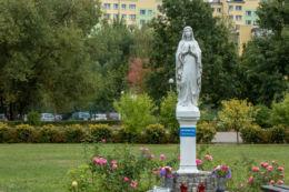Przydrożna kapliczka na osiedlu Podzamcze. Wałbrzych, Wałbrzych.