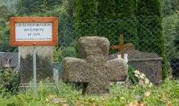Krzyż pokutny. Niedźwiedzice, gmina Walim, powiat wałbrzyski.