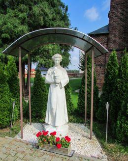 Figura święta. Chrząstawa Wielka, gmina Czernica, powiat wrocławski.