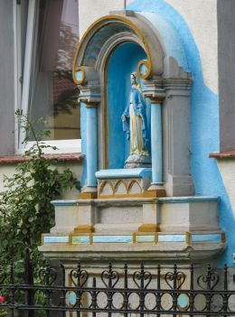 Kapliczka przydrożna. Węgry, gmina Żórawin, powiat wrocławski.