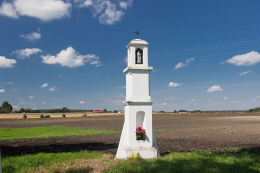 Kapliczka przydrożna, latarnia. Modryniec, gmina Mircze, powiat hrubieszowski.