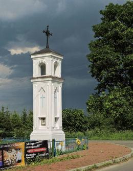 Kapliczka przydrożna, latarnia stojąca na rozstaju dróg. Drążgów, gmina Ułęż, powiat rycki.