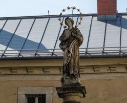 Kapliczka kolumnowa. Kraków, Kraków.
