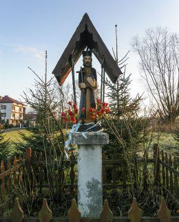 Przydrożna kapliczka. Witanowice, gmina Tomice, powiat wadowicki.