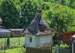 Kapliczka domkowa z 1824 r. Stryszów, powiat wadowicki.