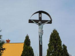 Przydrożny krzyż przy ulicy Generała Józefa Bema. Karczew, powiat otwocki.