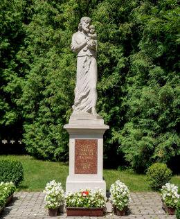 Figura św. Józefa w Mirkowie. Konstancin-Jeziorna, powiat piaseczyński.