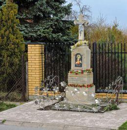 Kapliczka przydrożna, fundatorzy Stanisław i Maria Sobanie. Radom, Radom.