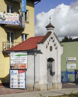 Przydrożna kapliczka domkowa przy ul.Malczewskiego. Radom, Radom.