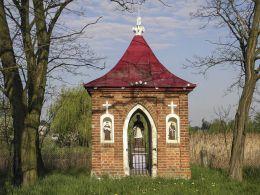 Kapliczka św.Jana Nepomucena. Cerekiew, gmina Zakrzew, powiat radomski.