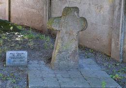 Przydrożny krzyż pokutny. Baborów, powiat głubczycki.
