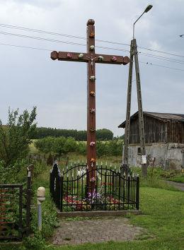 Krzyż przydrożny. Skórzyno, gmina Główczyce, powiat słupski.