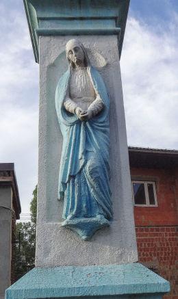 Krzyż - Boża Męka z 1884 roku, ulica Żytnia 49. Gliwice, Bojków, Gliwice.