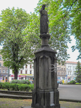 Figura Jana Chrzciciela z 1875 roku, ul. Warszawska. Katowice, Katowice.