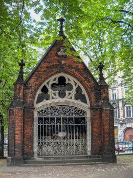 Kapliczka przy kościele Mariackim. Katowice, Katowice.
