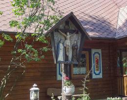 Sanktuarium Matki Bożej, ulica Księdza Franciszka Górka 58. Mikołów, Bujaków, powiat mikołowski.