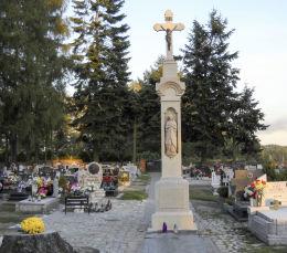 Krzyż kamienny, ul. Cmentarna. Orzesze, Woszczyc, powiat mikołowski.