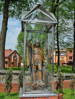 Figura św. Jerzego. Rydułtowy, powiat wodzislawski.