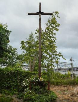 Krzyż przydrozny przy ulicy 1 Maja. Kielce, Kielce.