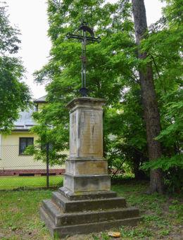 Krzyż obok kościoła św.Pawła, ul.Staromiejska. Sandomierz, powiat sandomierski.