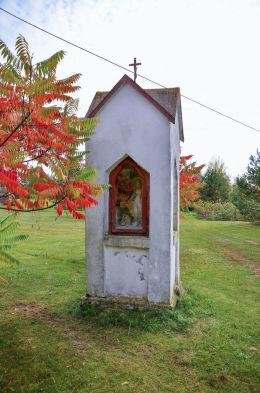 Kapliczka przydrożna. Barczewko, gmina Barczewo, powiat olsztyński.