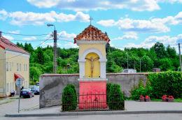 Kapliczka pochodząca z końca XVIII w. Barczewo, powiat olsztyński.