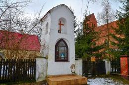 Kapliczka przydrożna z końca XVIII wieku. Butryny, gmina Purda, powiat olsztyński.