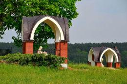 Droga krzyżowa z 2007 r. Gietrzwałd, powiat olsztyński.