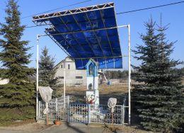 Kapliczka przydrożna. Atanazyn, gmina Szamocin, powiat chodzieski.