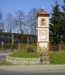 Kapliczka słupowa. Trzcianka, gmina Trzcianka, czarnkowsko-trzcianecki.