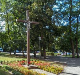 Krzyż przydrożny. Czarnków, czarnkowsko-trzcianecki.