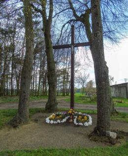 Krzyż przydrożny Piotrowo Wielkie, gmina Wielichowo, powiat grodziski.