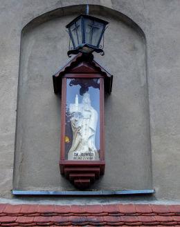 Kapliczka patronki kościoła św. Jadwigi Śląskiej. Brenno, gmina Wijewo, powiat leszczyński.