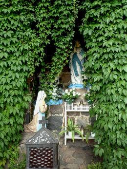 Grota Matki Boskiej z Lourdes. Bukowiec, gmina Nowy Tomyśl, powiat nowotomyski.