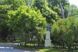 Kapliczka przydrożna. Rzęszkowo, gmina Wyrzysk, powiat pilski.