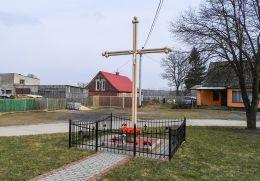 Przydrożny krzyż. Brodna, gmina Kaczory, powiat pilski.