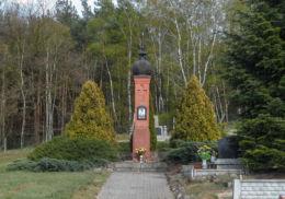 Przydrożna kapliczka. Byszki, gmina Ujście, powiat pilski.