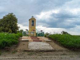 Kapliczka przydrożna. Glesno, gmina Wyrzysk, powiat pilski.