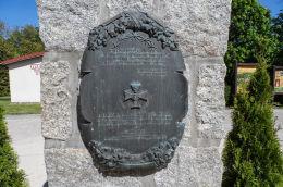 Kapliczka przydrożna murowana. Górka Klasztorna, gmina Łobżenica, powiat pilski.