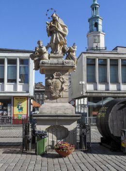 Figura św.Jana Nepomucena - Stary Rynek. Poznań, Poznań.