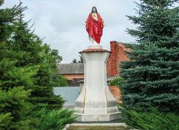 Figura Serca Pana Jezusa z 1908 r. Solec Wielkopolski, gmina Krzykosy, powiat średzki.