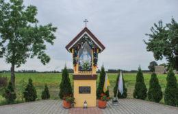 Kapliczka przydrożna. Godziszewo, gmina Siedlec, powiat wolsztyński.