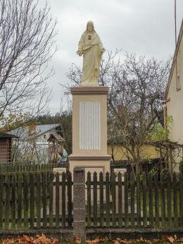 Figura przydrożna Najświętszego Serca Pana Jezusa. Wieleń, gmina Przemęt, powiat wolsztyński.