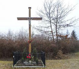 Krzyż przydrożny. Krajenka, powiat złotowski.