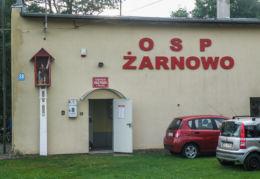 Kapliczka Św. Floriana przy remizie O S P. Racimierz, gmina Stepnica, powiat goleniowski.