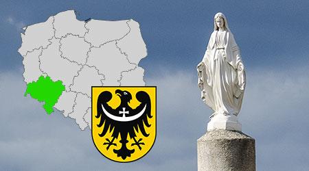 kapliczki i krzyże przydrożne województwo dolnosląskie, kapliczki przydrożne w polsce