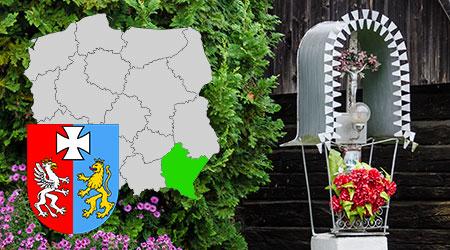 kapliczki i krzyże przydrożne województwo podkarpackie, kapliczki przydrożne w polsce