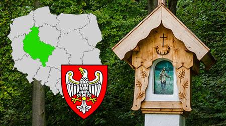 kapliczki i krzyże przydrożne województwo wielkopolskie